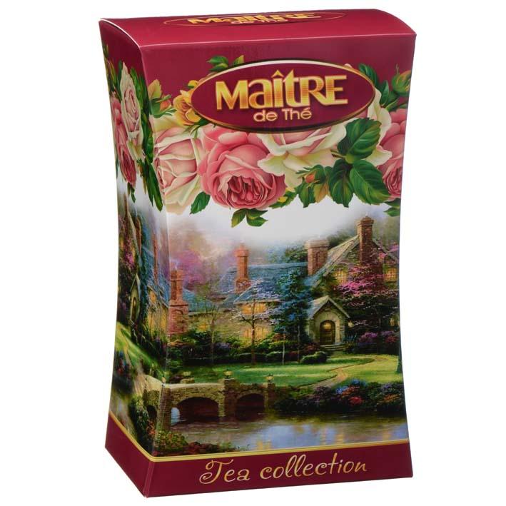 Чай черный Цветочный сад