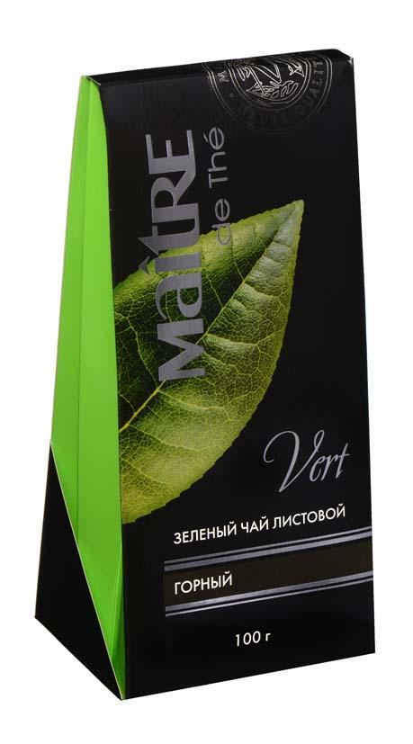 Зеленый горный чай 100x10