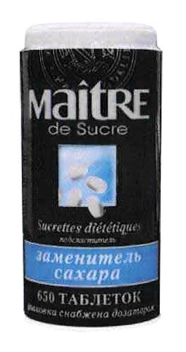 Заменитель сахара 650 таблетированный