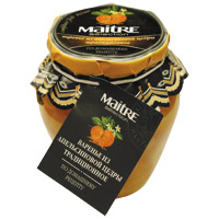 Домашнее варенье «Апельсиновая цедра» 375х12